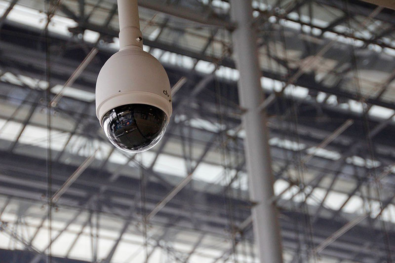 Serviço de instalação de câmeras de segurança