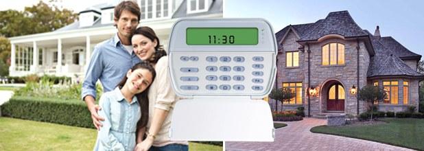 Central de alarme residencial com câmera
