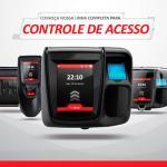 Controle de acesso biométrico para academias